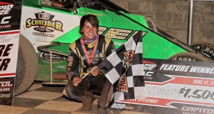 Danner Gets Redemption In USAC East Coast Run