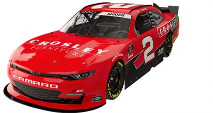 Crosley Brands Backing Snider For Four Races