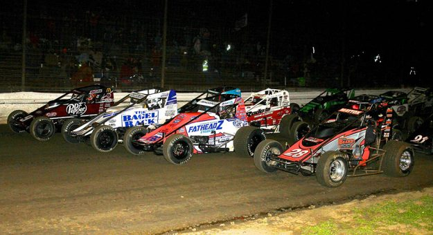 USAC annually visits Grandview Speedway as part of the Thunder on the Hill program. (Dan Demarco Photo)