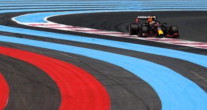 Verstappen Fastest On Day One In France