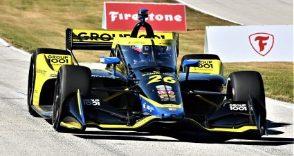 Herta Paces Final REV Group Grand Prix Practice