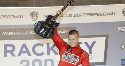 Preece Soars To Victory In His Truck Series Debut