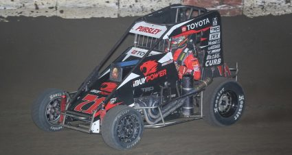 Pursley Leads All 30 Laps At Jacksonville
