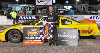 Robert Powell Returns To Victory Lane At Florence