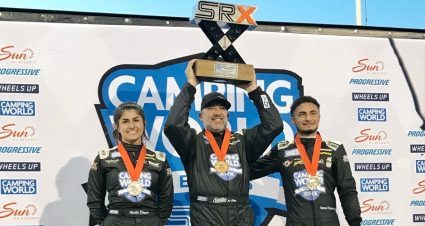 Stewart Breaks Through At Knoxville In SRX Action