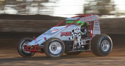 Gardner Wins 85th USAC-CRA Feature