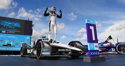 Mortara Majestic In Mexico Formula E Run
