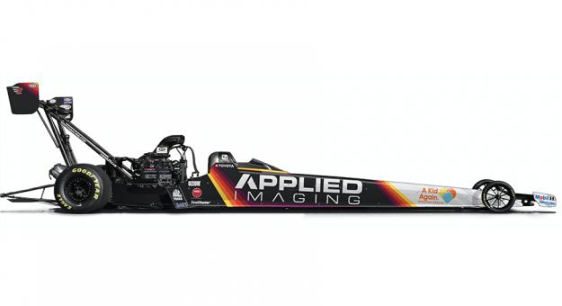 Applied Imaging will sponsor Doug Kalitta this weekend in Norwalk, Ohio.