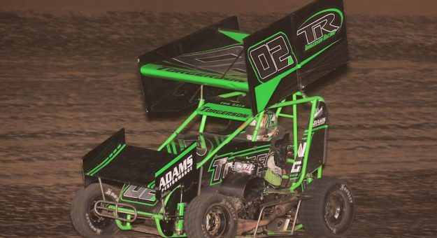 Ashton Torgerson was a winner Sunday at Fayette County Speedway. (Allen Horcher Photo)