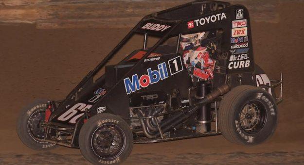 Buddy Kofoid won the finale of POWRi Illinois Speedweek on Sunday at Fayette County Speedway. (Allen Horcher Photo)