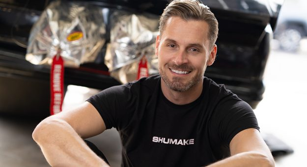 Travis Shumake is hoping to become the first openly gay competitor in NHRA history.