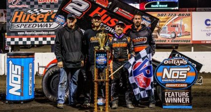 Gravel Wins For Quiring In Huset's Outlaw Run