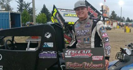 Third Western Midget Racing Win For Blake Bower