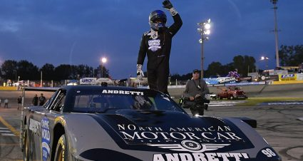 Andretti Bests Fenhaus To Conquer Slinger's High Banks