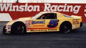 Dexter Canipe Sr. won the 1997 NASCAR Advance Auto Parts Weekly Series National title, which was one of his many accolades. (Sherri Stearns Photo)