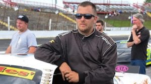 Like his father, Dexter Canipe Jr. also won a track title at Hickory Motor Speedway. His came in 2016. (Sherri Stearns Photo)
