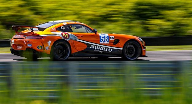 Eric Foss and Jeff Mosing gave Murillo Racing a win in IMSA Michelin Pilot Challenge action Saturday at Lime Rock Park.
