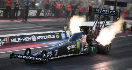 Brittany Force Is A Colorado Speed Demon