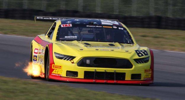 Rafa Matos earned the Trans-Am Series TA2 pole at Brainerd Int'l Raceway.