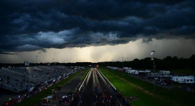 Rain halted the PDRA Summer Shootout Saturday. (Roger Richards Photo)