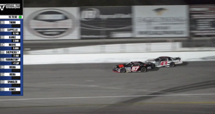 Highlight: Thorn & Cappello Trade Donuts At Irwindale