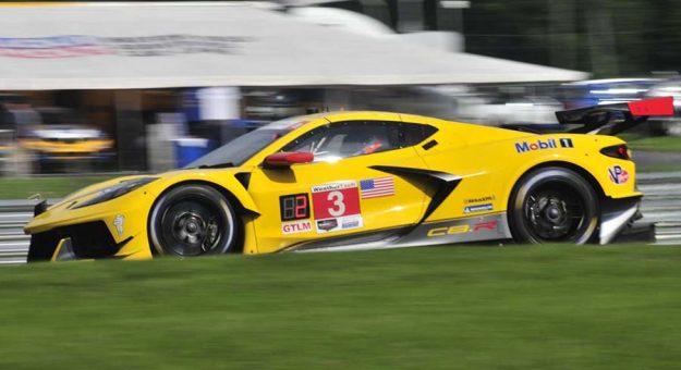 Antonio Garcia and Jordan Taylor triumphed in the GT Le Mans class Saturday at Lime Rock Park. (Randy McKee Photo)