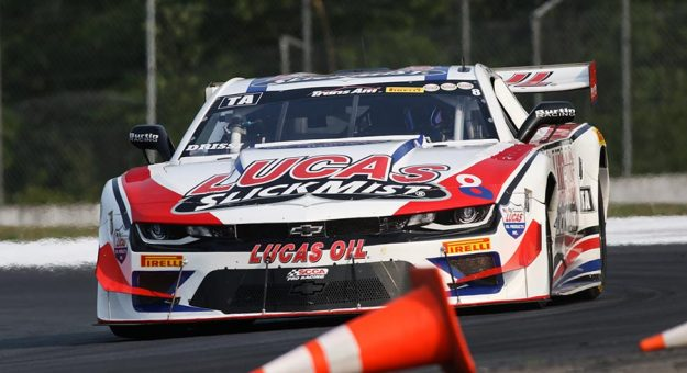 Tomy Drissi qualified on the pole in the Trans-Am Series TA division.