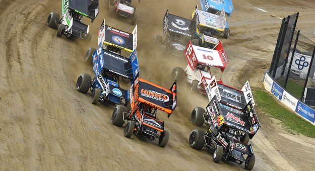 Kings Royal weekend has led to a shakeup in the National Sprint Car Rankigns. (Paul Arch Photo)