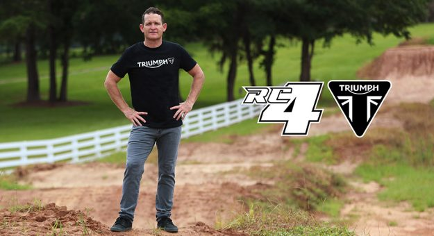 Ricky Carmichael will be a part of Triumph's entrance into the Motocross and Enduro markets.