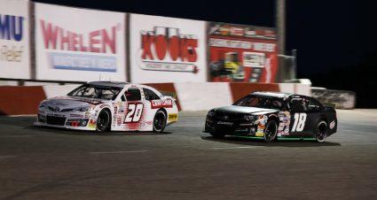 Gibbs Vs. Heim Battle Heads To Iowa Speedway