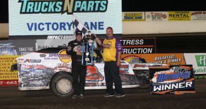 Shryock Leads Jackson IMCA Winners