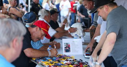 Hickory's CARS Throwback Event Honors Six Dignitaries