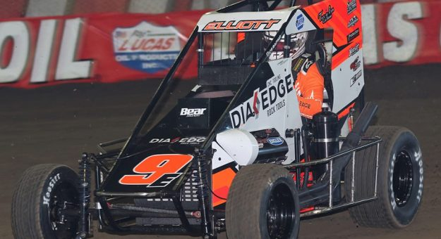 Chase Elliott will compete in the BC39 at The Dirt Track at Indianapolis Motor Speedway. (Brendon Bauman Photo)