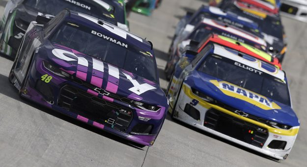 Two Hendrick Motorsports teams have been penalized by NASCAR. (HHP/Garry Eller Photo)