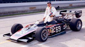Joe Saldana at Indianapolis Motor Speedway in 1978. (IMS Archives Photo)