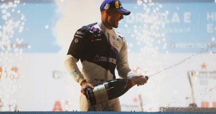 Dennis Is London Formula E Ace
