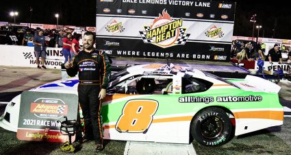 Berry Beats The Heat At Langley Speedway