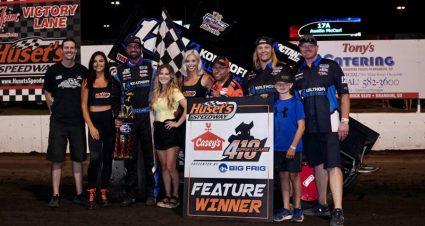 Austin McCarl Posts Another Huset's Speedway Triumph