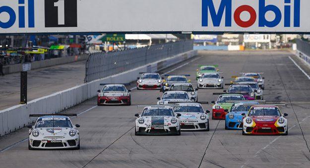 The Porsche Carrera Cup North America schedule has been finalized. (IMSA Photo)