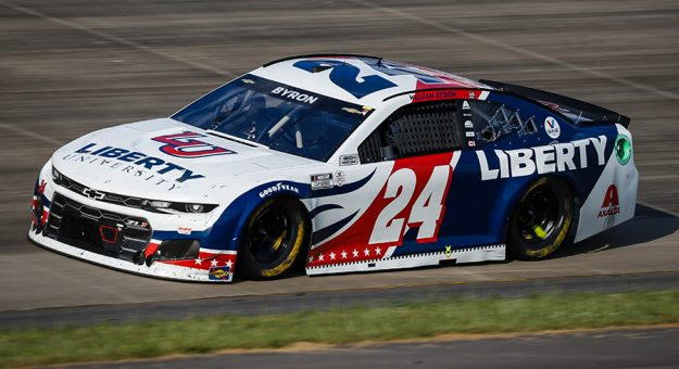 William Byron has filed an entry to compete in the Gandrud Auto Group 250 at Wisconsin Int'l Raceway. (HHP/Harold Hinson Photo)