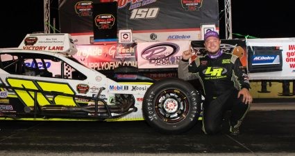 Emerling Conquers Lancaster Modified Tour Field