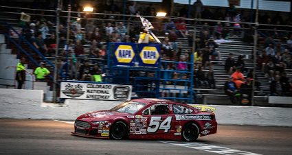 Iest Claims First ARCA West Triumph