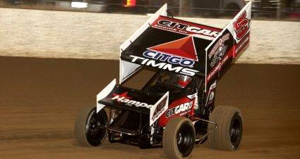 Timms Wraps Up Speedweek In Style