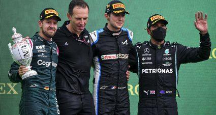 Vettel DQed Following Hungarian Grand Prix