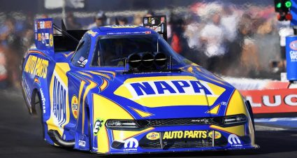 Capps Leads The Way At Pomona