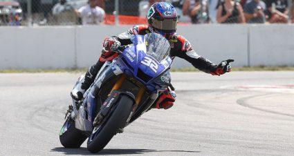 Jake Gagne Resets Superbike Streak Record