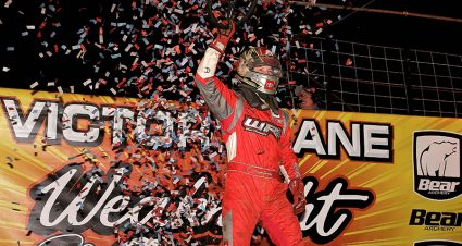 Pursley Slices To Second USAC National Midget Win
