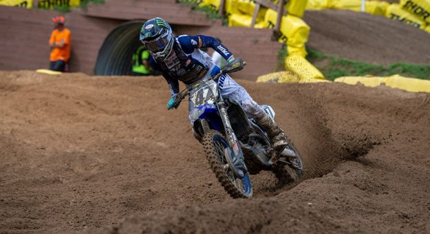 Levi Kitchen rebounded with a emphatic victory in the second 250 Pro Sport moto during the 40th running of the Monster Energy AMA Amateur National Motocross Championship. (Ken Hill Photo)