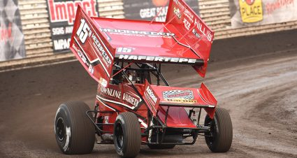Hafertepe Claims 360 Knoxville Nationals Opener