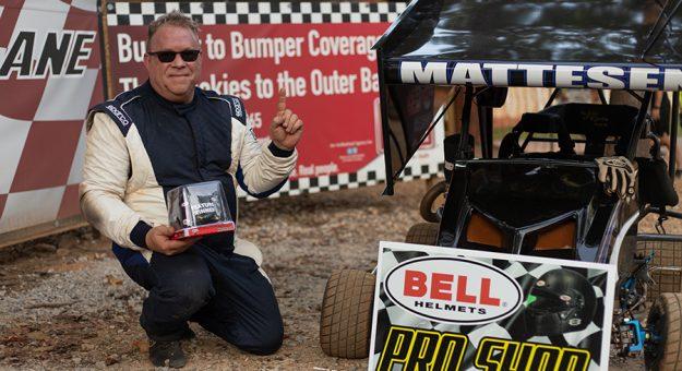 Lou Mattesen was among the winners Sunday at Mountain Creek Speedway. (Whitney McIntosh Photo)